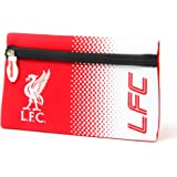 Liverpool FC Official Fade Flat Football Crest Pencil Case