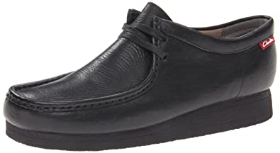 Clarks Men's Stinson Lo,Black Leather,7 ...