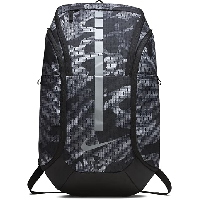Nike Hoops Elite Hoops Pro Basketball Backpack Gunsmoke Grey/Black/Cool Grey,One Size