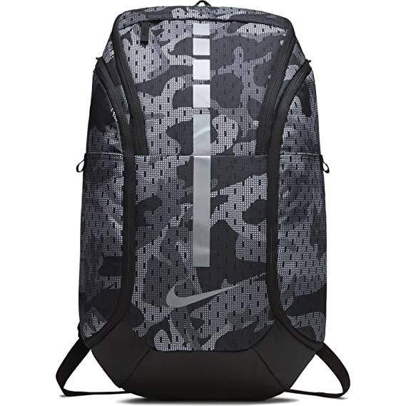 764eb06685 Nike Hoops Elite Hoops Pro Basketball Backpack Gunsmoke Grey Black Cool  Grey  Amazon.ca  Clothing   Accessories