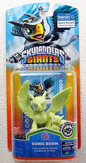 Amazon.es: Skylanders: Giants - Character Pack - EXCLUSIVE LIMITED EDITION - Glow in the Dark Sonic Boom (Wii/PS3/Xbox 360/PC)