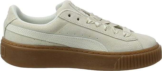 separation shoes 9c409 006a3 Amazon.com | PUMA Women's Suede Platform Bubble WN's ...
