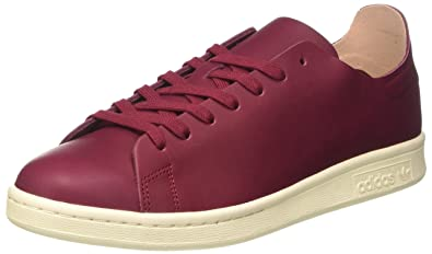 sneakers for cheap ef8cc e1267 adidas Womens Stan Smith Nude Sneaker Low Neck, Red Collegiate  BurgundyOff White,