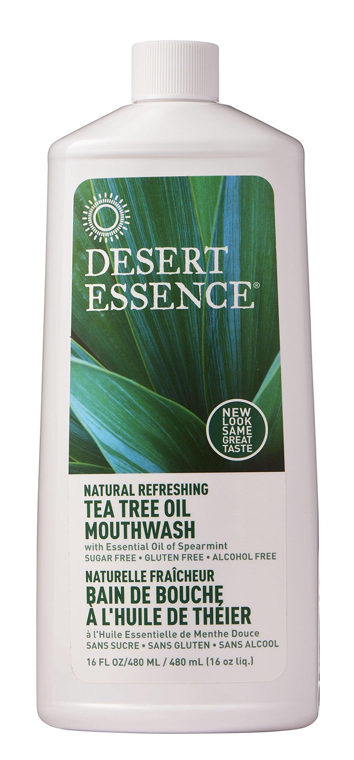 Natural Tea Tree Oil Mouthwash(2pk) - 16 fl oz