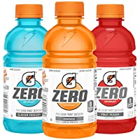 Deals on 24-Pack Gatorade G Zero Thirst Quencher Fruit Punch 12oz