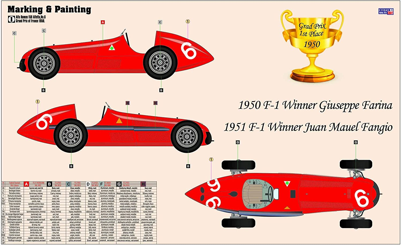 Mistercraft D-222 Plastikmodellbau Fahrzeuge Alfa Romeo Alfetta