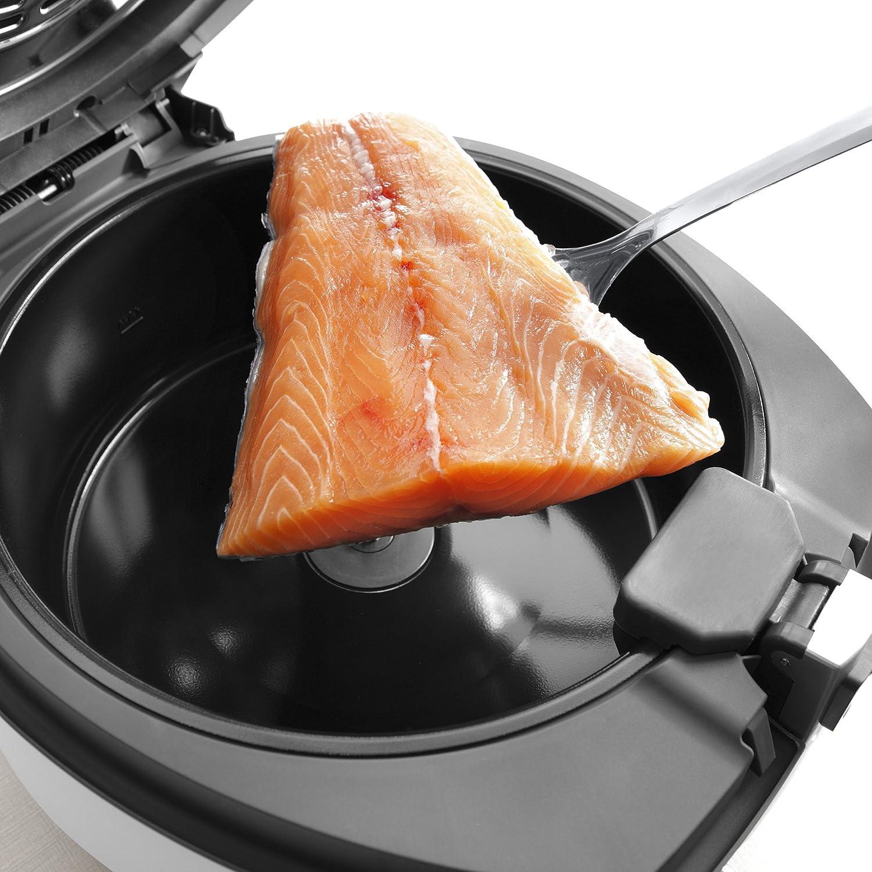 DeLonghi Multifry The Multicooker Classic FH1163 Robot de cocina, 1400 W, Plástico, 4 Velocidades, Negro y Gris: Amazon.es: Hogar