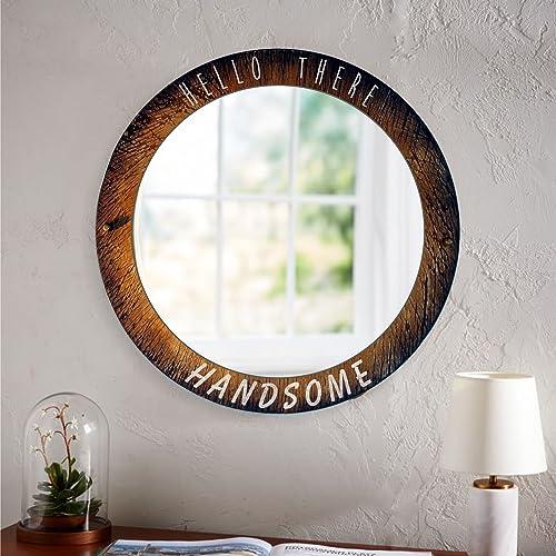 Amazon.com: Custom Decorative Wall Mirror | Your personalized saying ...