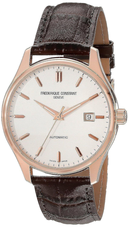 フレデリックコンスタント Frederique Constant Men's FC303V5B4 Index Analog Display Swiss Automatic Brown Watch [並行輸入品] B010NETEJ0