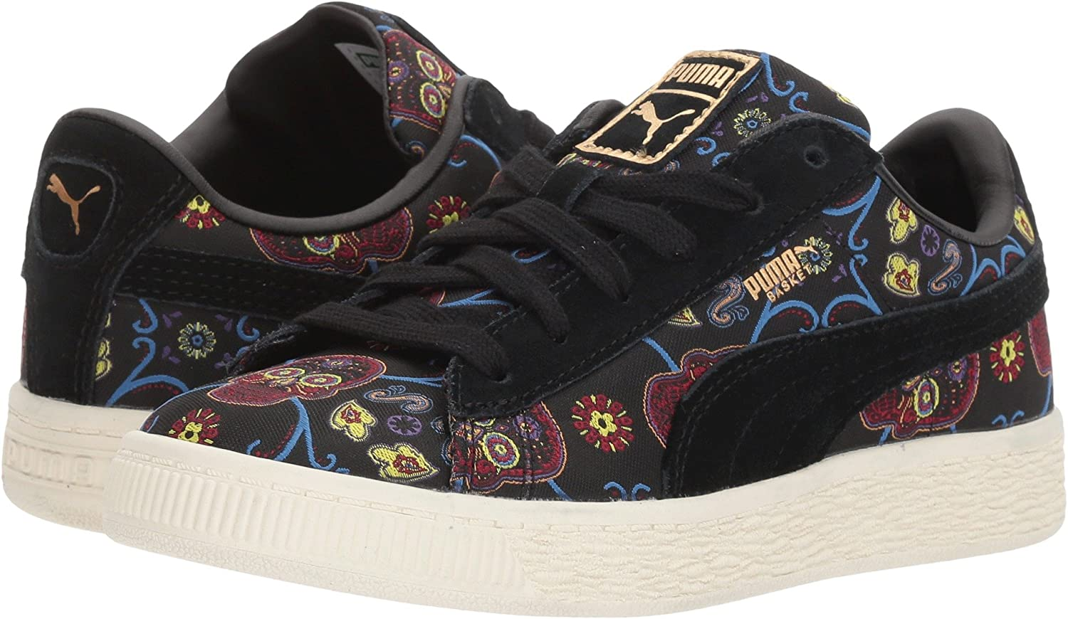 newest 76430 3070d Puma Kids Unisex Basket Classic DOTD FM (Little Kid/Big Kid ...