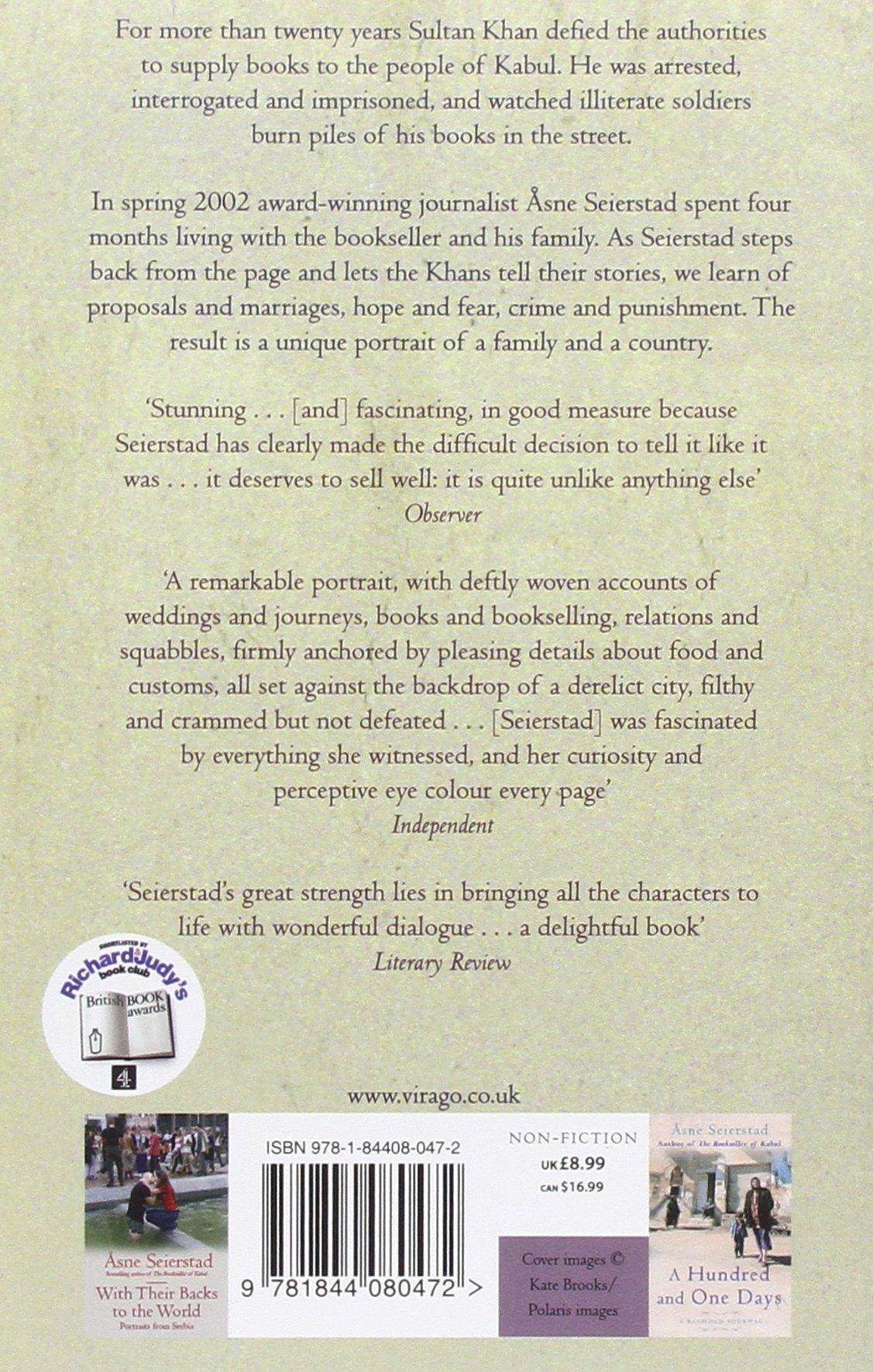The Bookseller Of Kabul: Amazon: Åsne Seierstad, Ingrid  Christophersen: Books