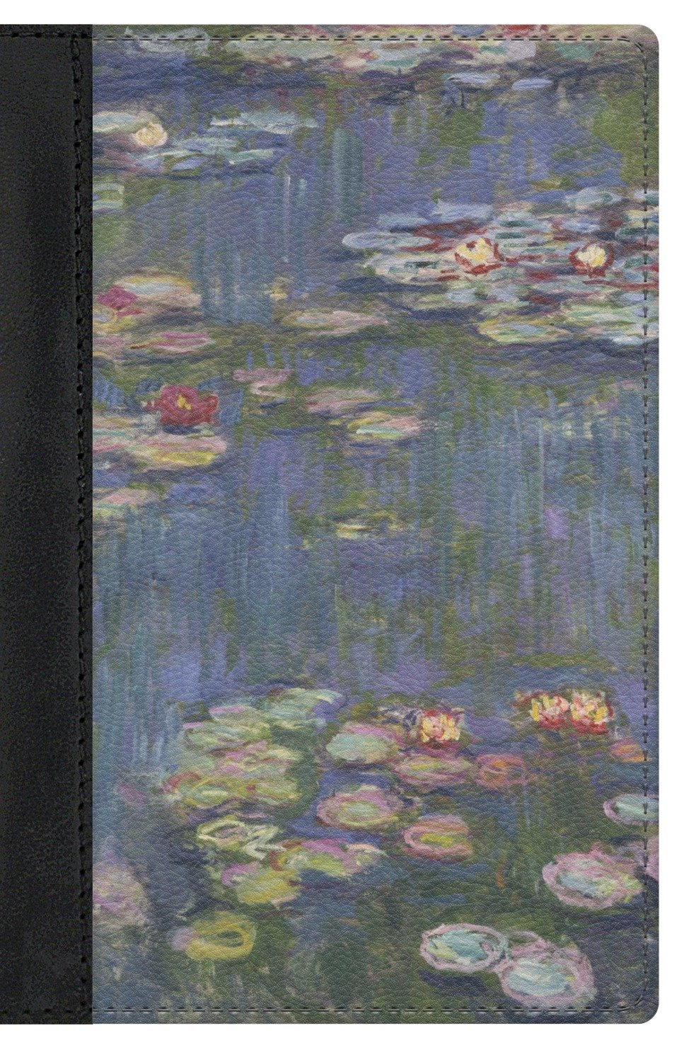 Water Lilies by Claude Monet Genuine Leather Passport Cover