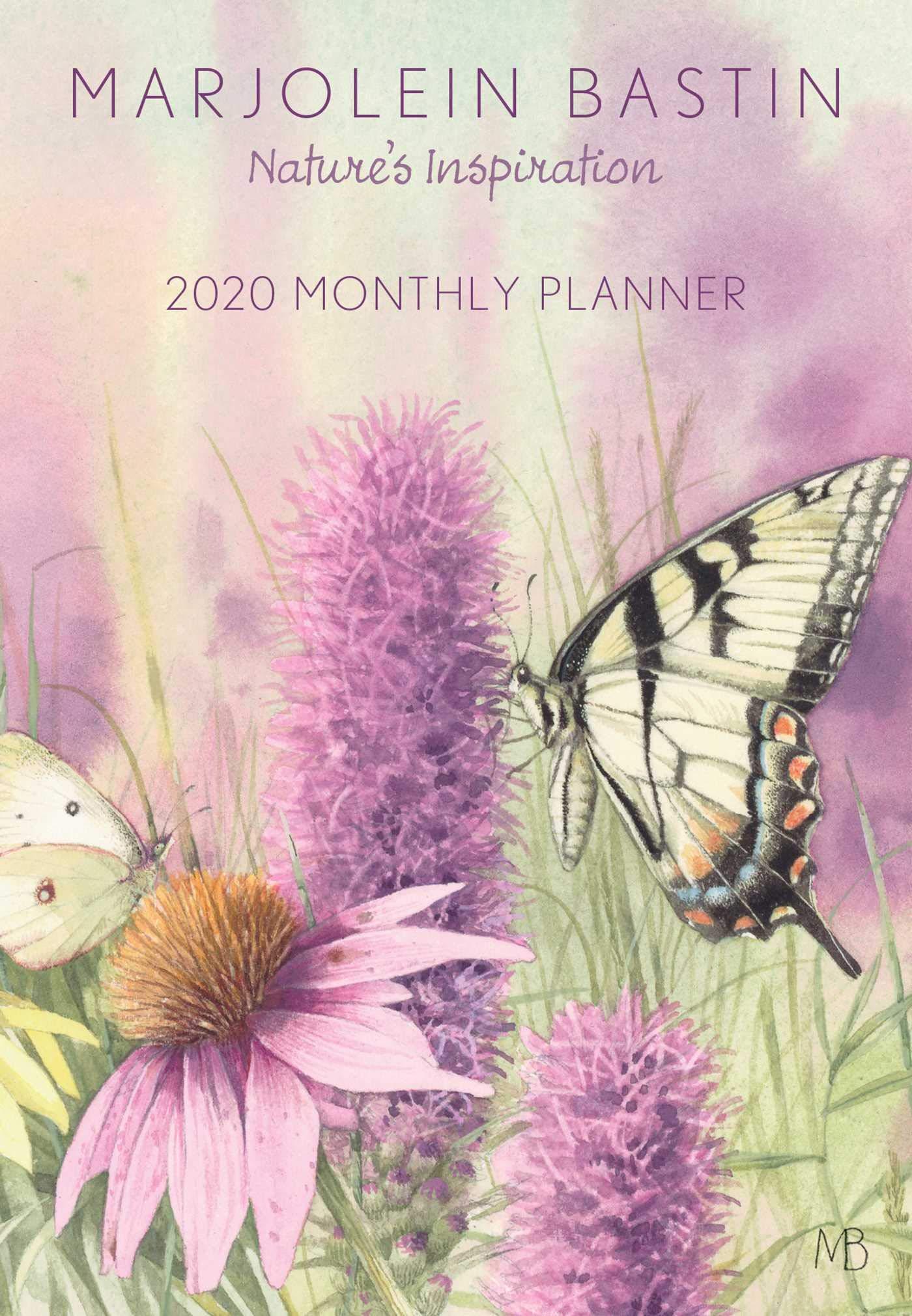 Ongebruikt Marjolein Bastin 2020 Monthly Pocket Planner Calendar: Nature's WD-14