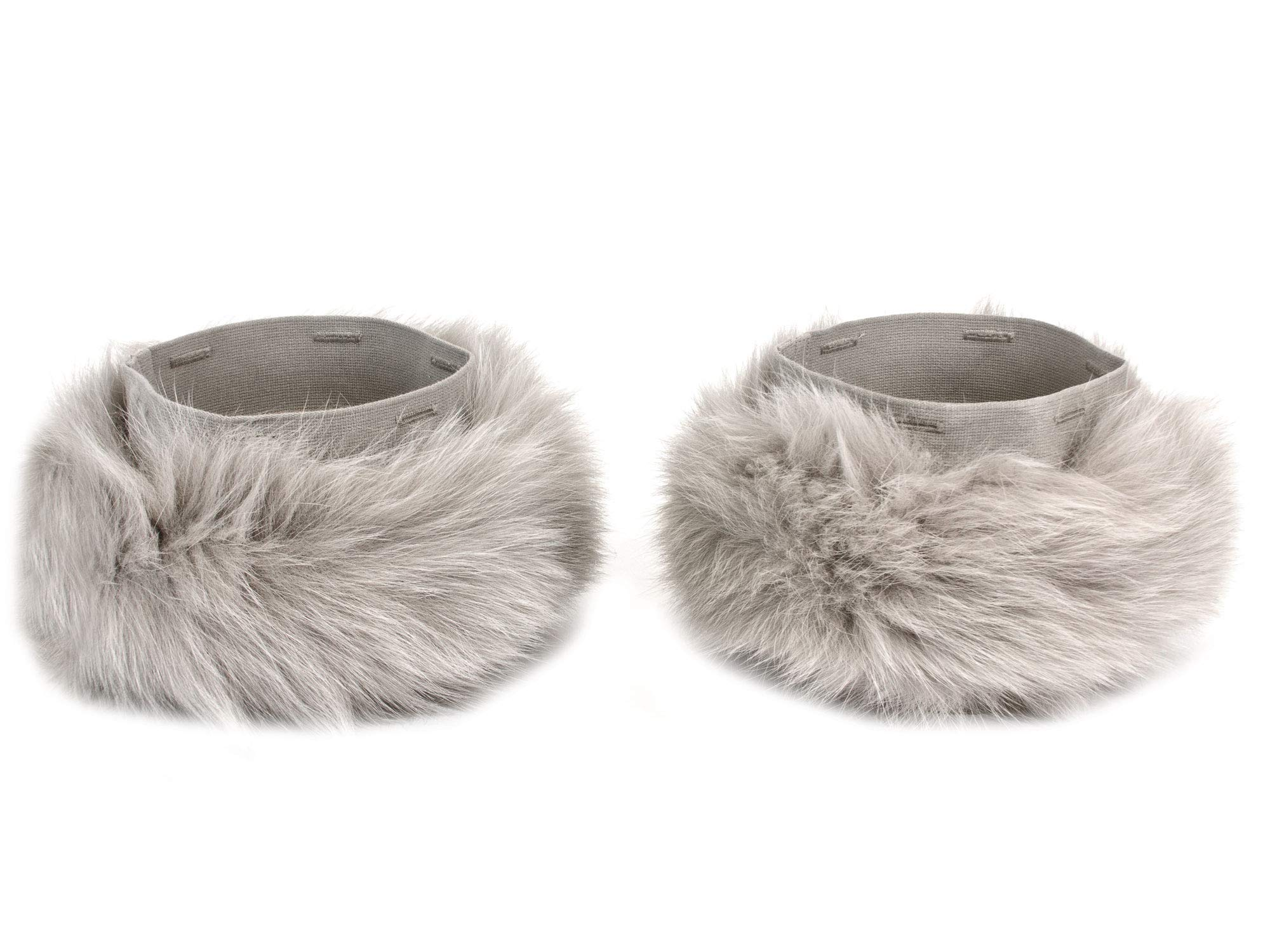 S Max Mara Women's Pechino Fox Fur Cube Collection Cuffs One Size Sand