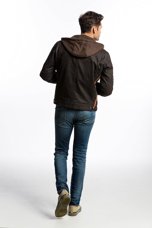 Urban Leather UR-01 58 Veste pour Homme