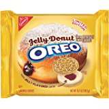 Oreo Jelly Donut Sandwich Creme Flavor Cookies 10.7 Ounce