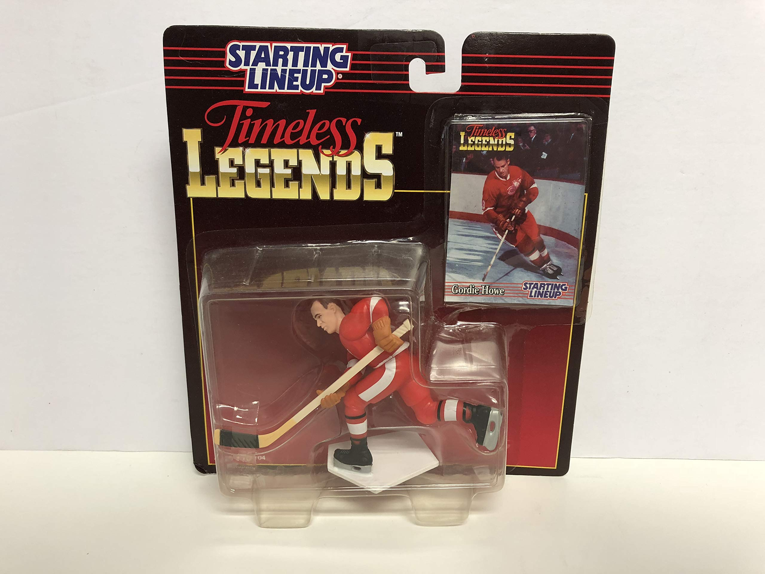 Gordie Howe MR HOCKEY Detroit Red Wings Legend Collectible Toy Action Figure with Trading Card
