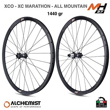 MH27 Alchemist - Ruedas de Bicicleta de montaña de Carbono Boost ...