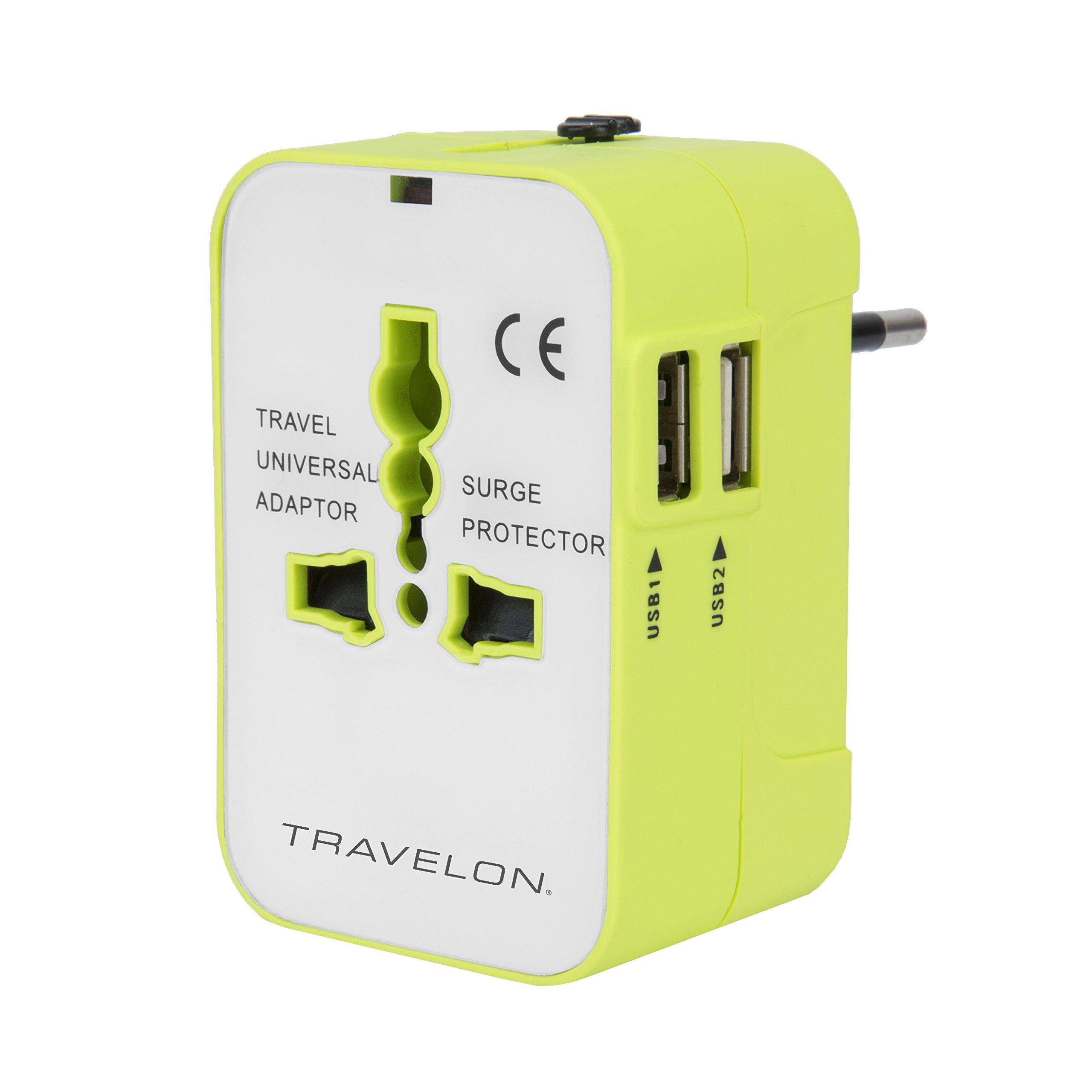 Travelon Worldwide Adapter with Dual USB