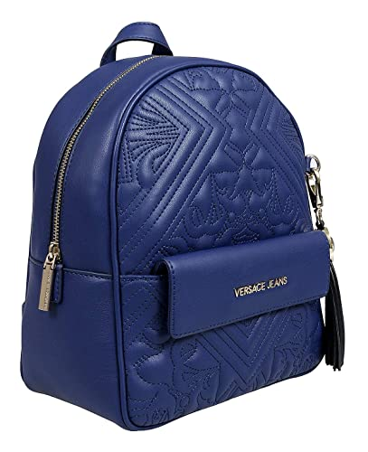 b909debe4d9e Amazon.com  Versace EE1VSBBZ7 E239 Blue Backpack for Womens  Shoes