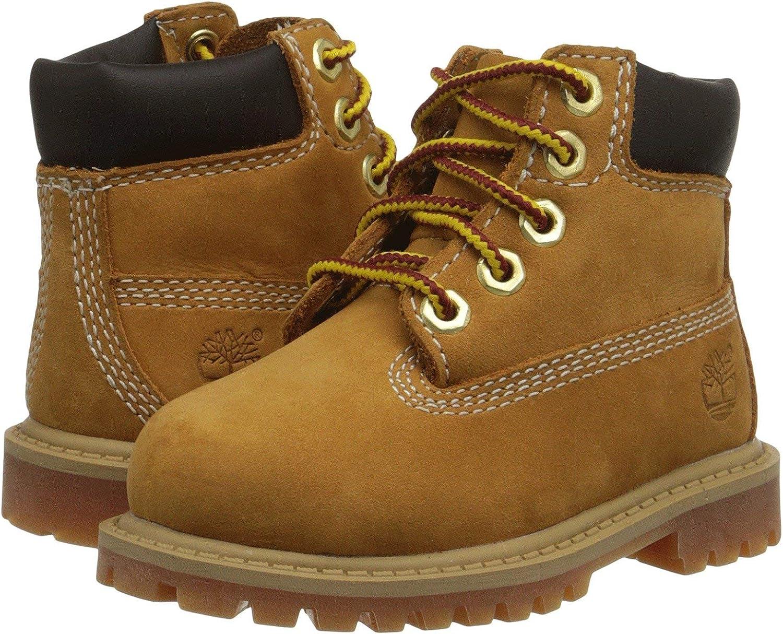 [ティンバーランド] キッズブーツ・靴 6 Wheat Nubuck 8 Toddler (15cm) M [並行輸入品]