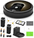 iRobot Roomba 980 Robotic Vacuum Cleaner with Wi-Fi Connectivity + Manufacturer's Warranty + Extra Sidebrush Bundle
