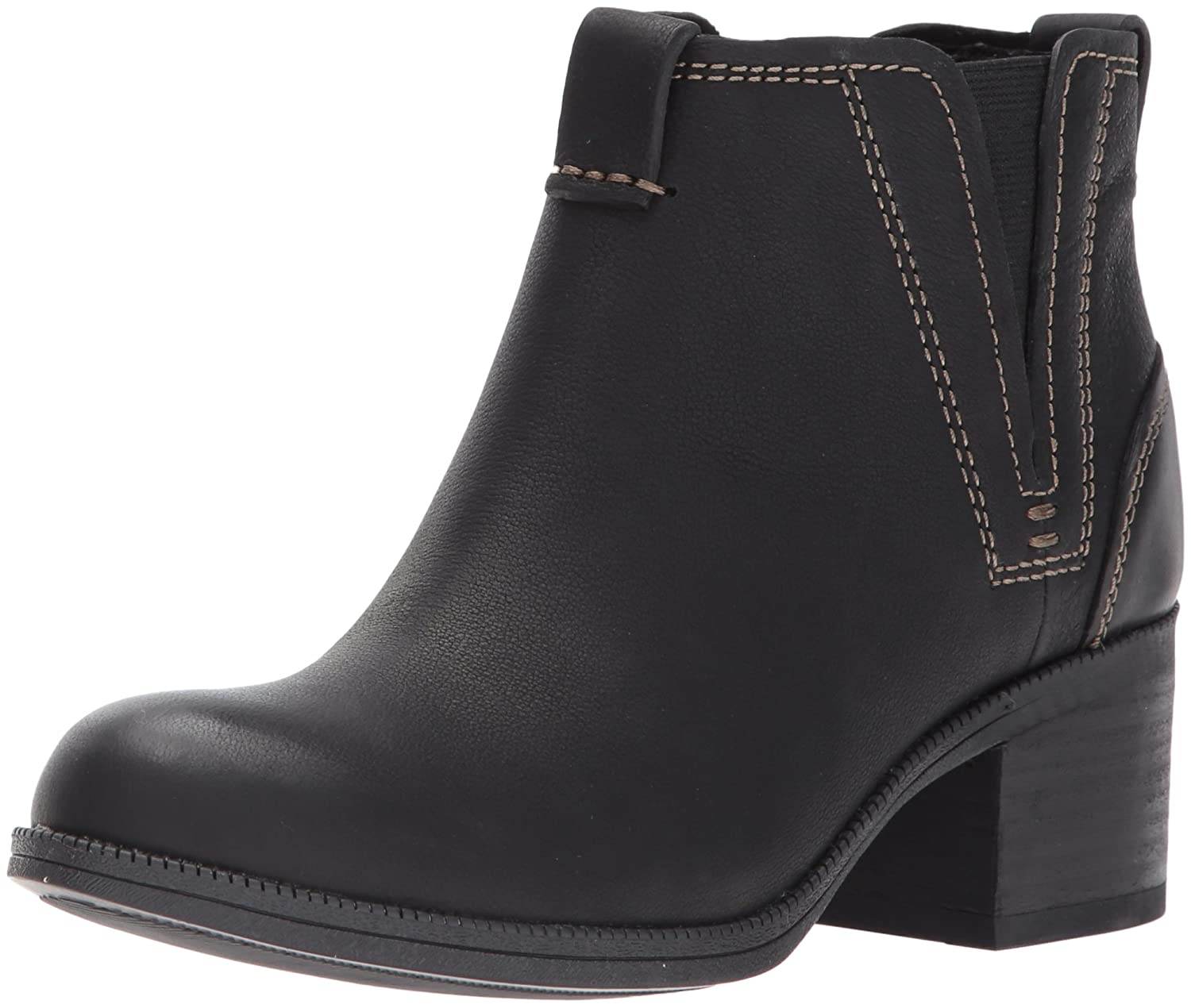 CLARKS Women's Maypearl Daisy Ankle Bootie B01NCOBHNE 5 B(M) US|Black