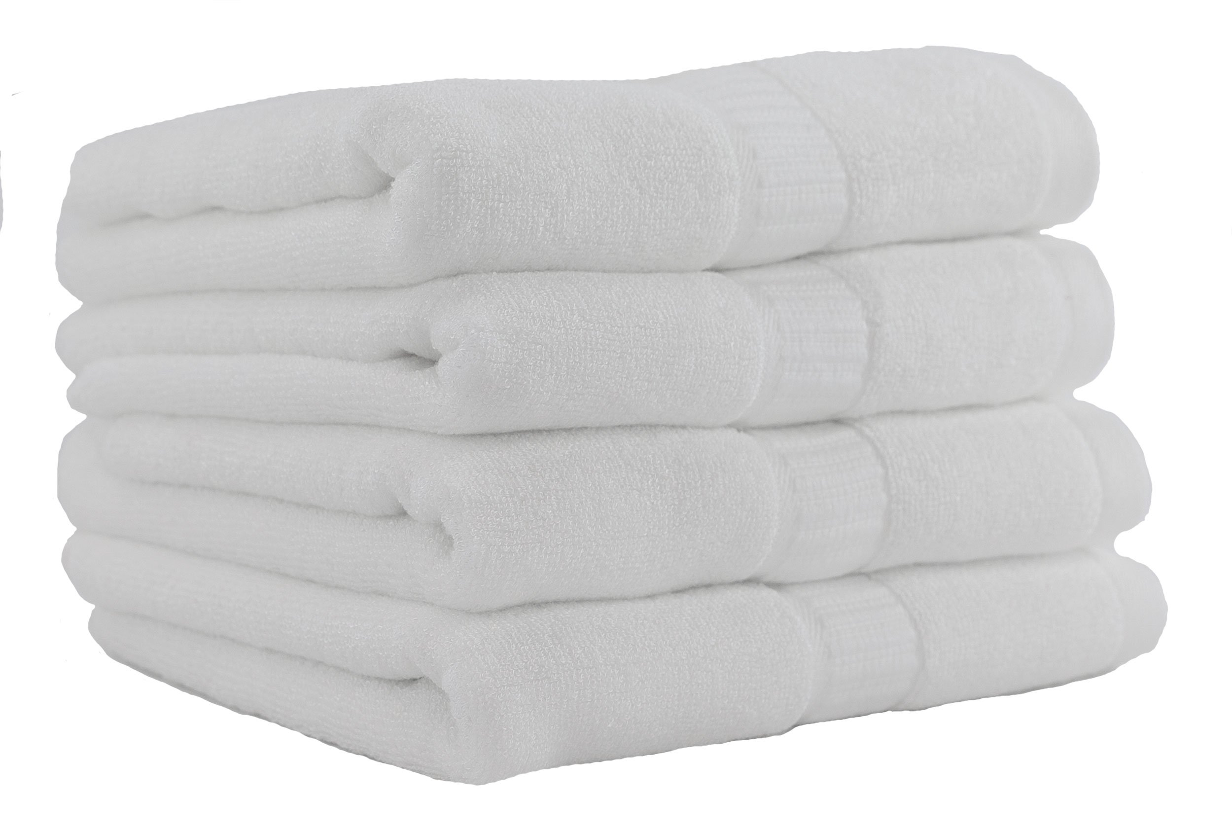 Hotel Sheets Direct 100% Bamboo Hand Towels, 4 Piece Set - Unbelievably Soft, Hypoallergenic, Anti-Fungal 13 x 29.5 (Set of 4 Hand Towels)