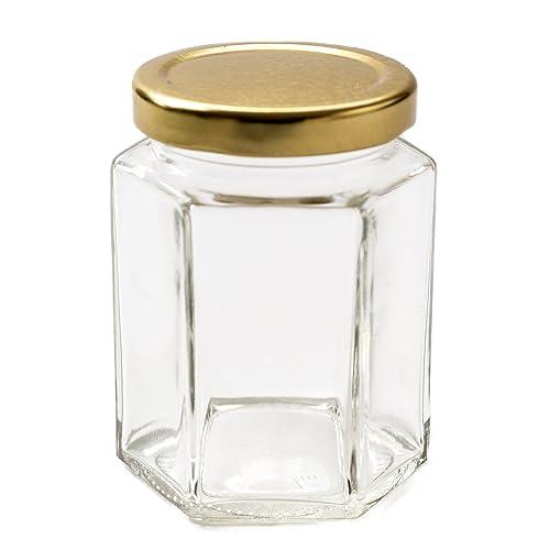 Amazon Uk Made With Love Glass Jar