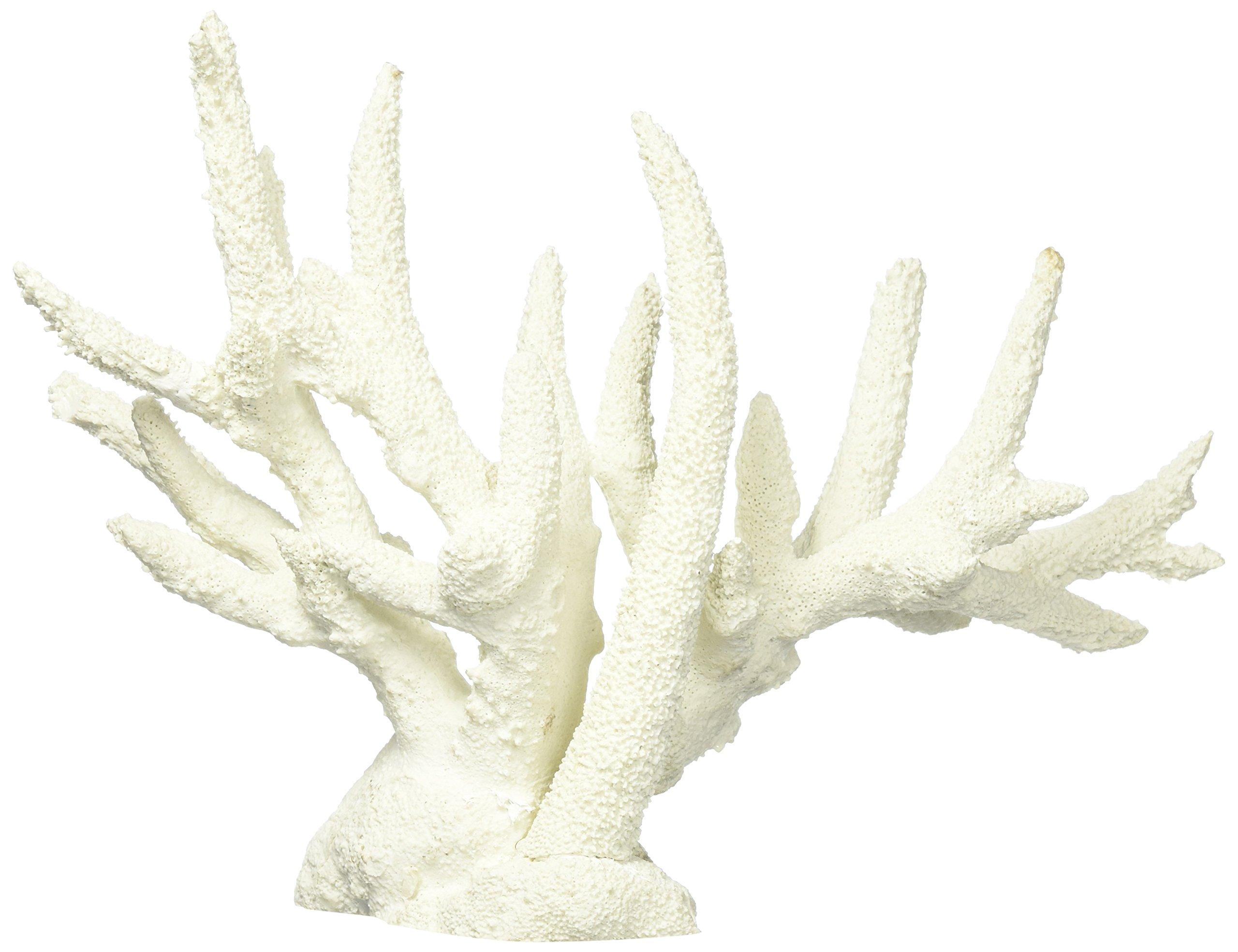 Deep Blue Professional ADB80092 Staghorn Coral for Aquarium, 13.5 by 4.5 by 9.5-Inch