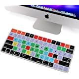XSKN Apple Magic Keyboard Cover Functional Lightroom CC Shortcut Silicone Skin Protective Film for Magic Keyboard MLA22B/A, US Layout