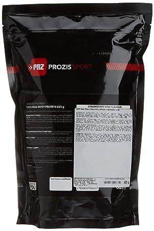 Prozis Sport 100% Real Whey Protein, Suplemento de Proteínas, Sabor a Fresa y Kiwi - 625 gramos: Amazon.es: Salud y cuidado personal