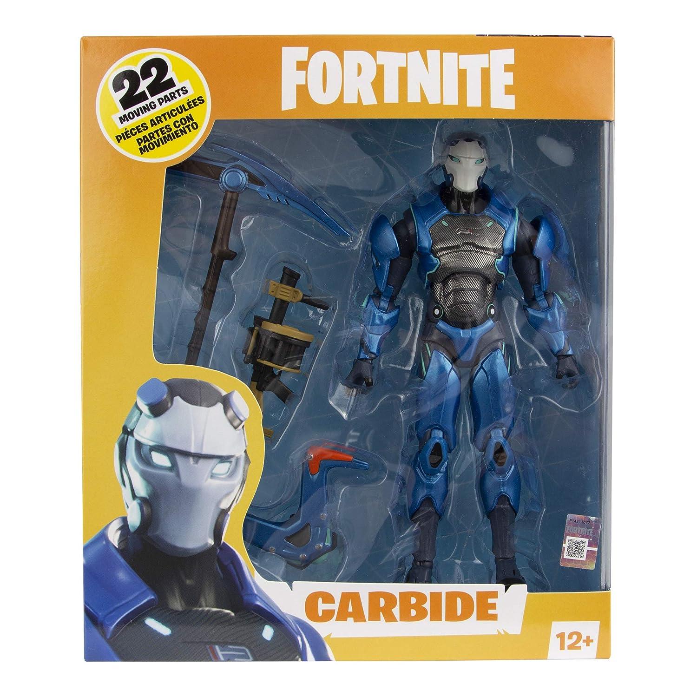 Amazon.com: McFarlane Toys Fortnite Carbide Premium Action ...