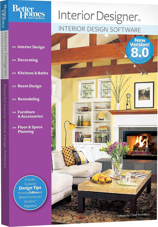 Amazon Com Better Homes And Gardens Interior Designer 8 0 Old Version Software