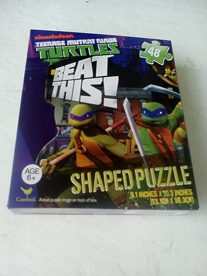 Amazon.com: Teenage Mutant Ninja Turtles in Fighting Poses ...