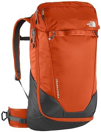 a4062114488f North Face Cragaconda Backpack - Orange Grey Papaya Orange Asphalt Grey