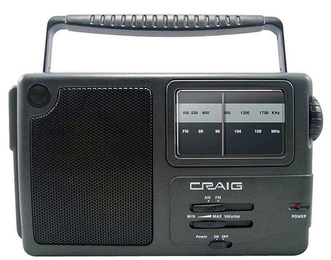 Review Craig Portable Am/Fm Radio