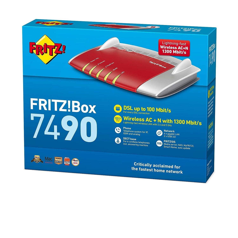 AVM FRITZ Box WLAN 7490 internationale version Amazon puter & Zubehör