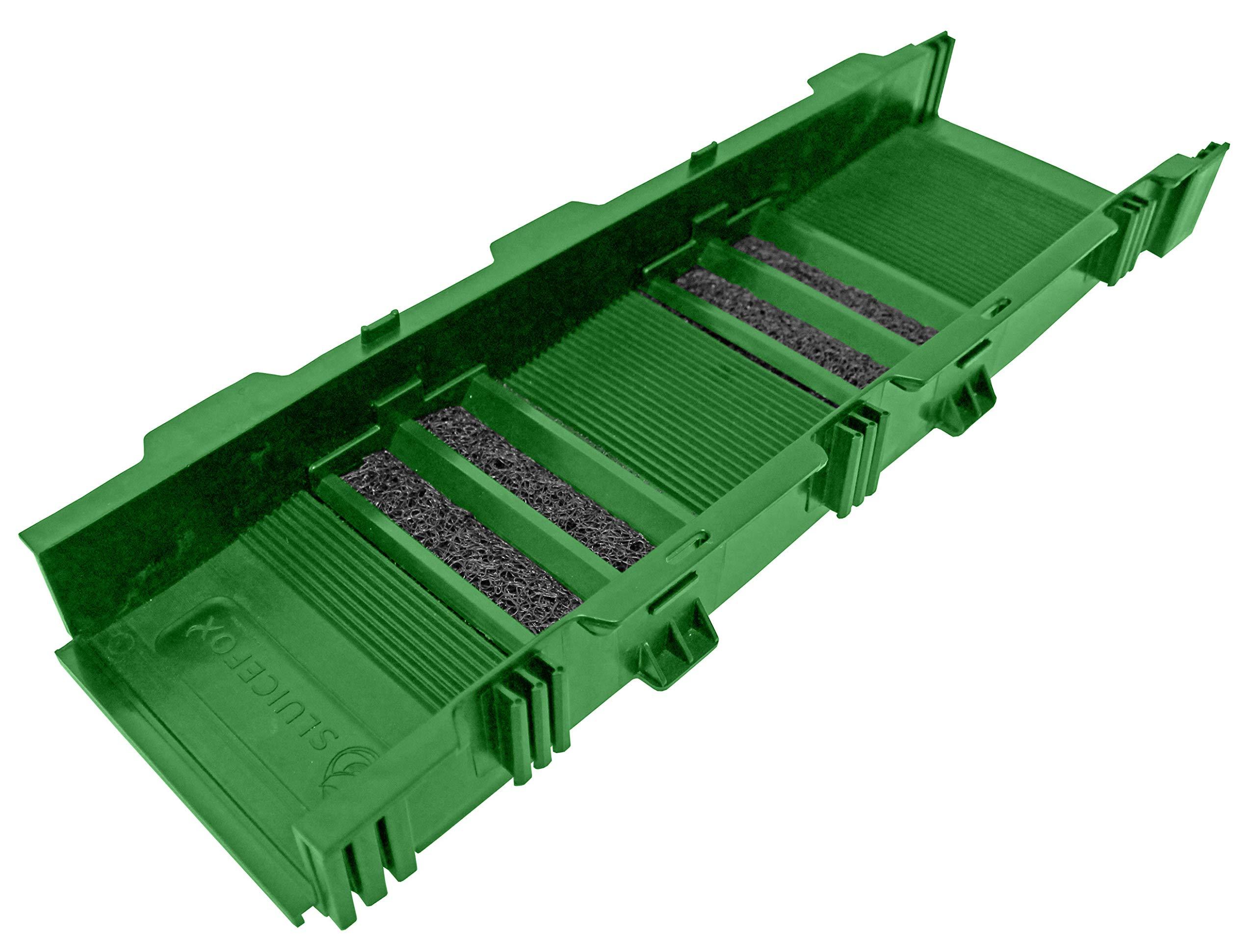 Sluice Fox 24'' Portable Modular Sluice Box (Green) Gold Panning Dredge Sluicing