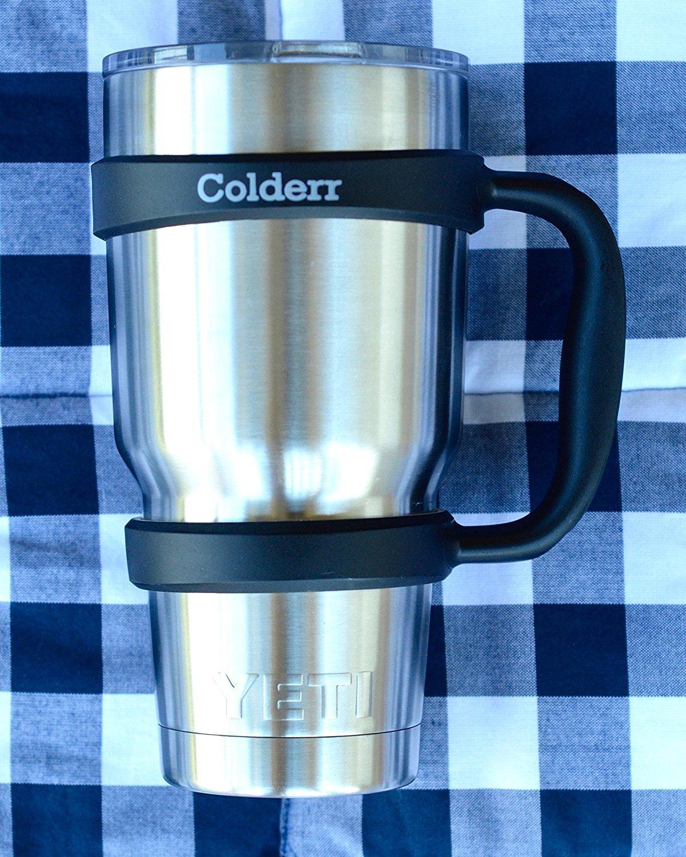 Amazon.com | Colderr Handle for YETI Rambler 30 oz. Tumbler, Black ...