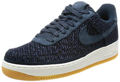 best sneakers fc884 89644 Zapatillas NIKE Air Force 1 Indigo Azul/Blanco Hombre: Amazon.es: Zapatos y  complementos