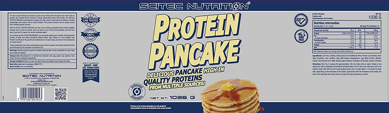 Scitec Nutrition Protein Pancake comida funcional sin sabor 1036 g: Amazon.es: Salud y cuidado personal