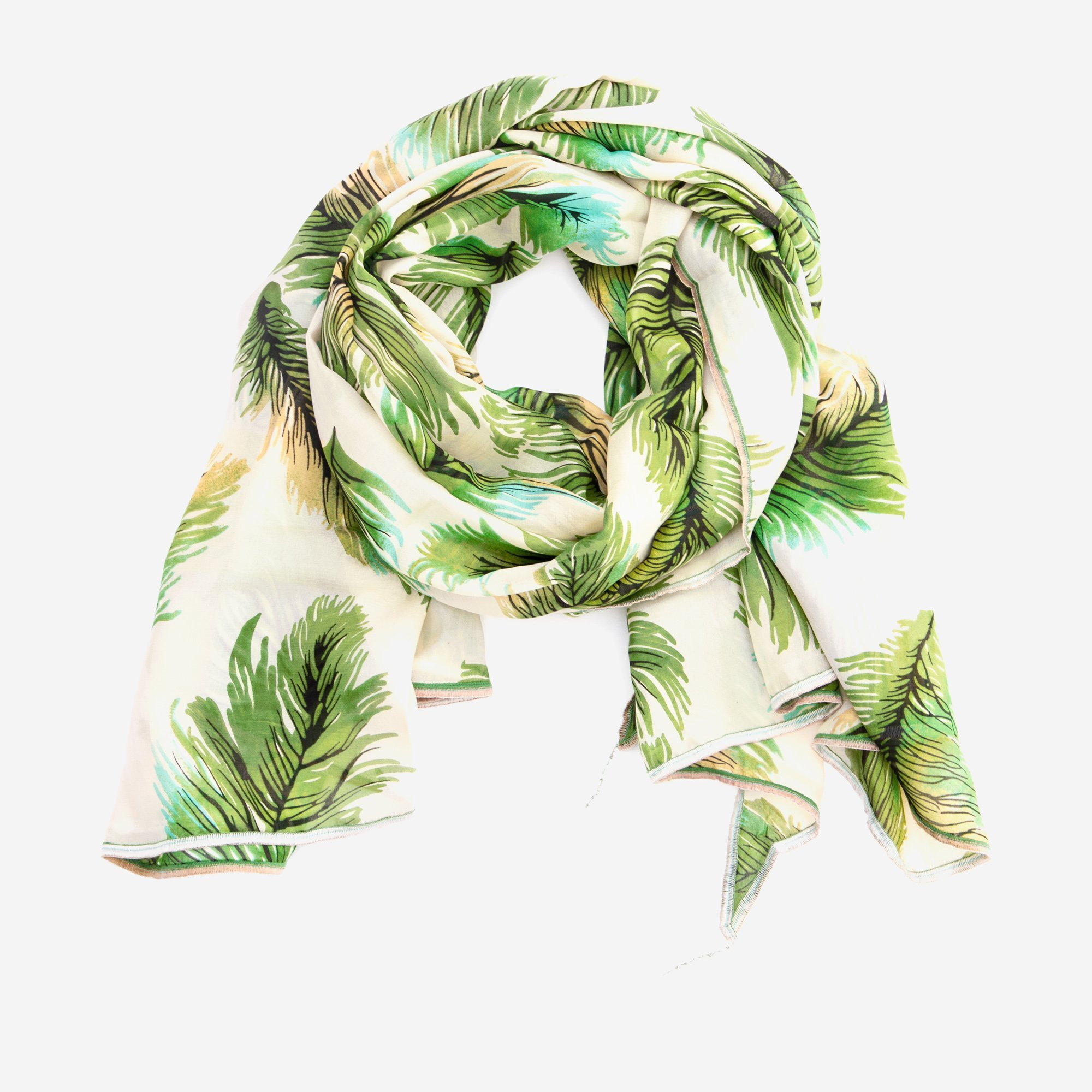 Fauna Eyes Silk Scarf by Late Sunday Afternoon
