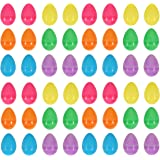 48 Colourful Fillable Plastic Surprise Easter Eggs - Fill With Easter Hunt Gifts And Chocolate
