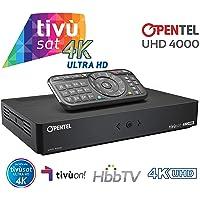 OPENTEL UHD 4000 Ultra HD Ricevitore TVSat