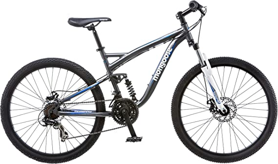 Mongoose Men's Detour Mountain Bike