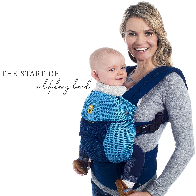 fc5f2eda7fd Amazon.com   LÍLLÉbaby The Complete Airflow SIX-Position 360° Ergonomic Baby    Child Carrier