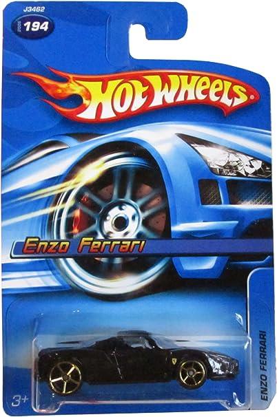 Hot Wheels 2006 Black Enzo Ferrari 194//223