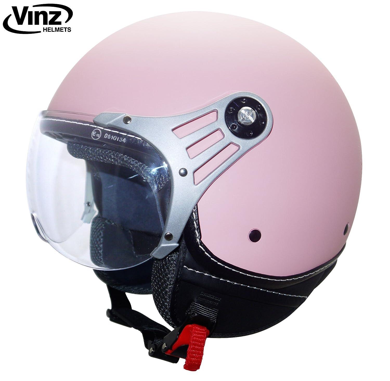 Vinz Jethelm Rollerhelm | In Gr. XS-M | Jethelm Motorrad | ECE zertifiziert (XS, Minze Grü n) BIS169