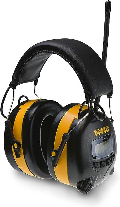 DeWalt DPG15 Industrial Safety Radio Headphones